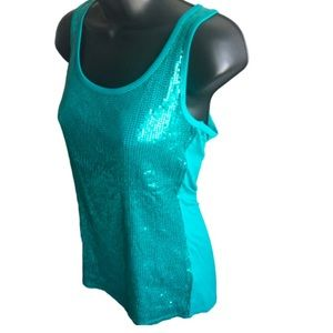 Sequin Tank by Maurice's